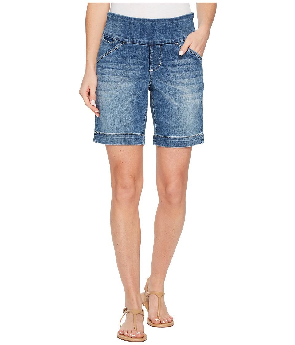 Jag Jeans - Ainsley Pull-On 8 Shorts Comfort Denim (Horizon Blue Denim) Womens Shorts