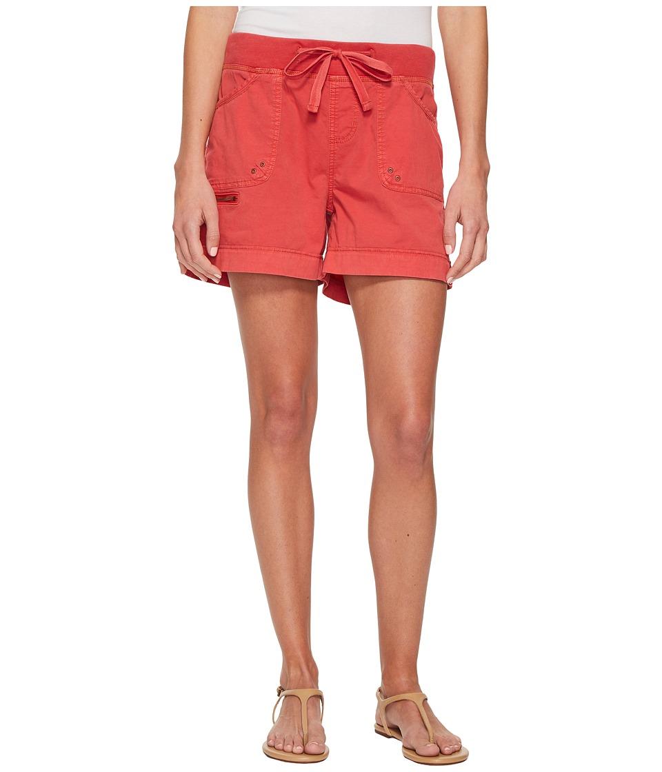 Jag Jeans Diana Knit Waist 5 Drawstring Shorts in Breezy ...