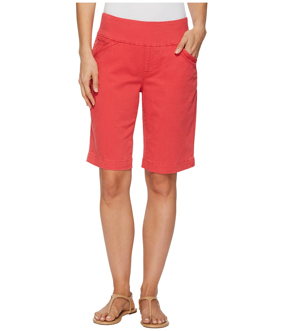 Jag Jeans Ainsley Bermuda Classic Fit Bay Twill (Hibiscus...