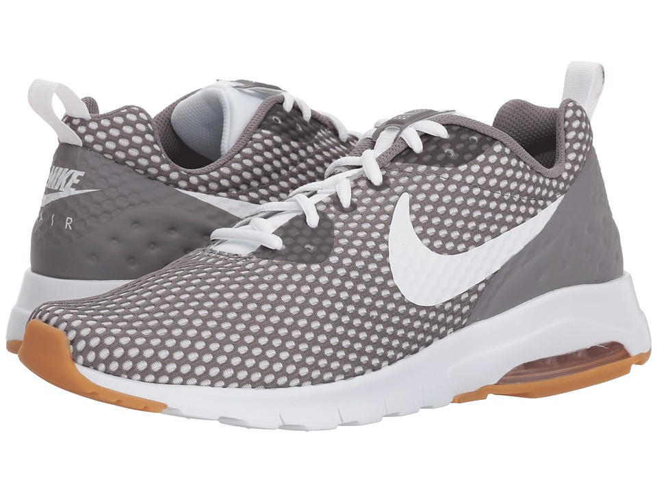 Nike - Air Max Motion Low SE (Gunsmoke/White/Gum Light Brown) Mens Shoes