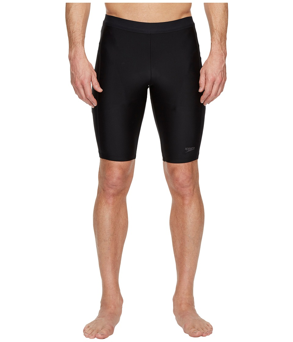 Speedo - Solid Jammer (Speedo Black) Men's Swimwear