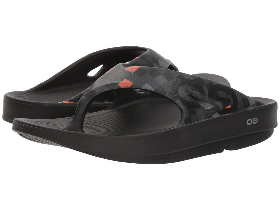 OOFOS - OOriginal Sport Geo (Orange) Shoes