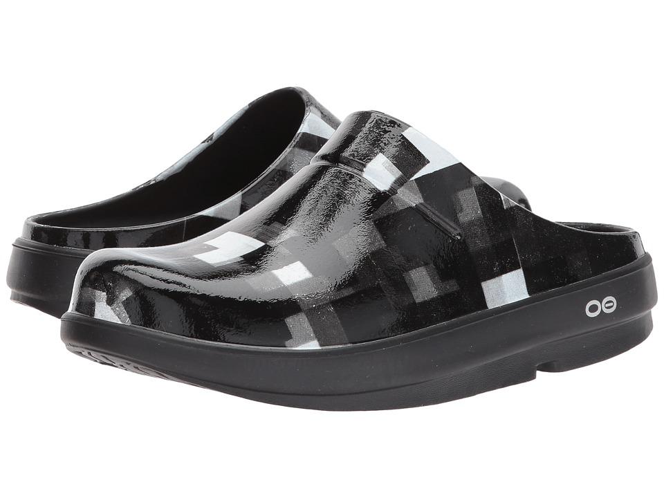 OOFOS - OOcloog Geo (Black) Shoes