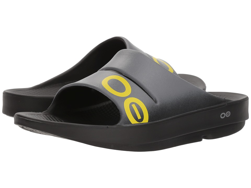 OOFOS - OOahh Sport Sandal (Gray) Sandals