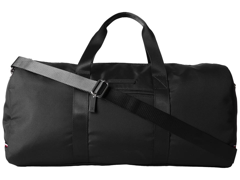 Tommy Hilfiger Alexander-Duffel-Nylon (Black) Duffel Bags