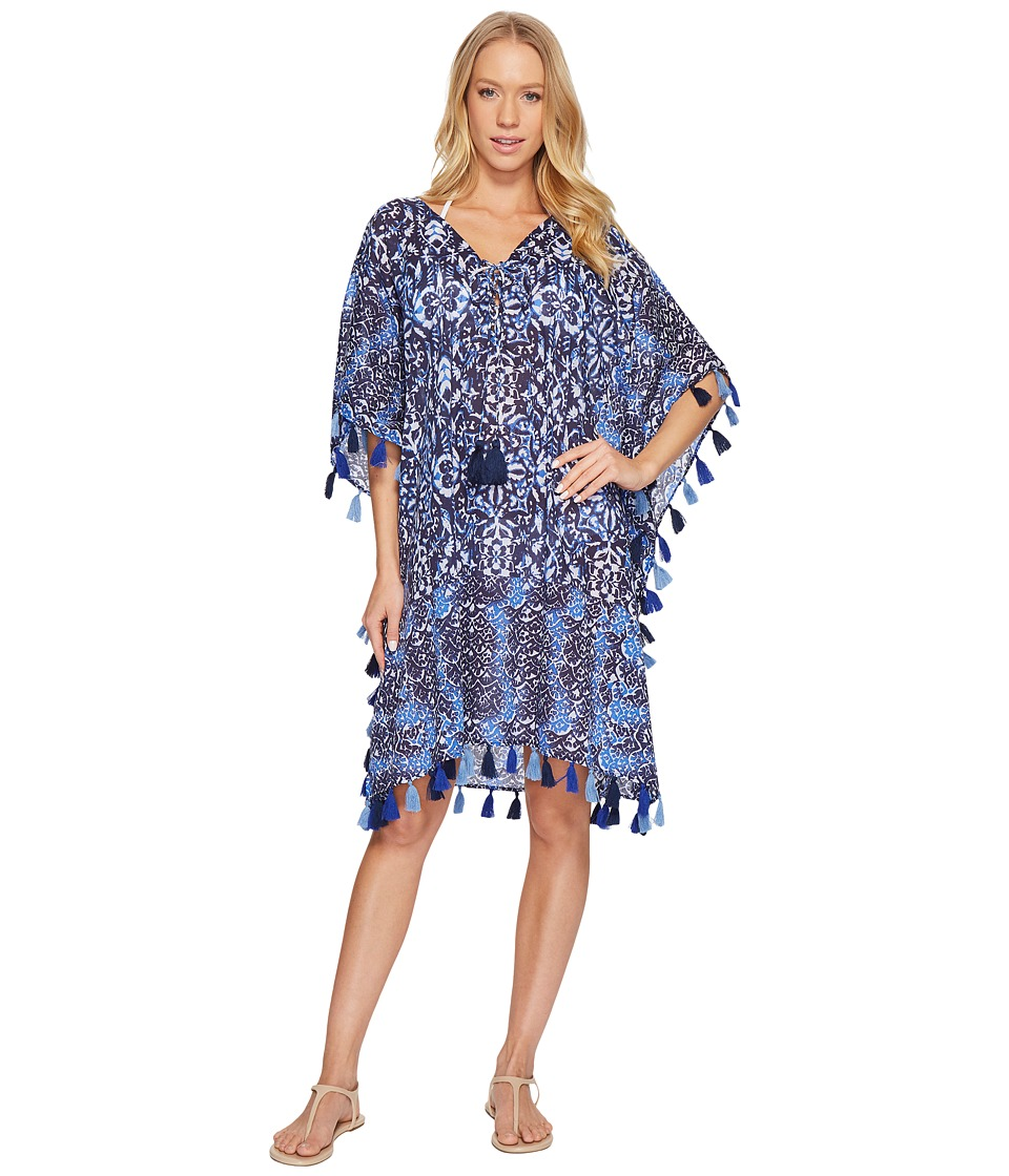 Miraclesuit Majorca Caftan Cover-Up (Blue)