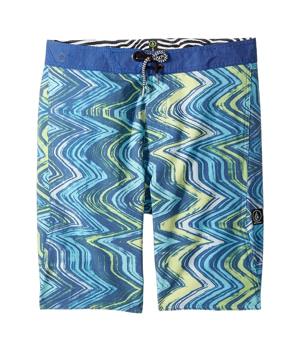 Volcom Kids - Lo Fi Boardshorts (Big Kids) (Camper Blue) Boys Swimwear