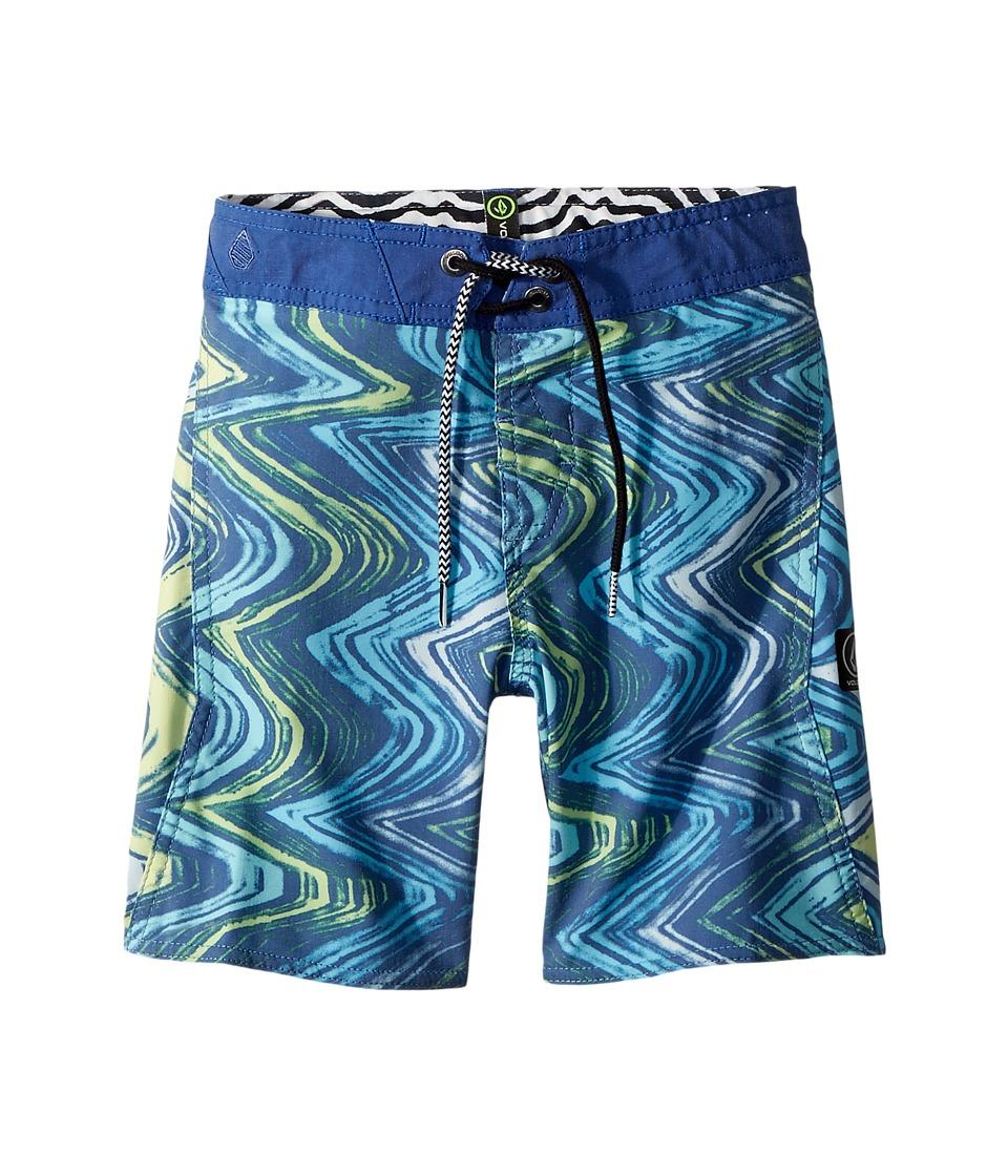 Volcom Kids - Lo Fi Boardshorts (Toddler/Little Kids) (Camper Blue) Boys Swimwear