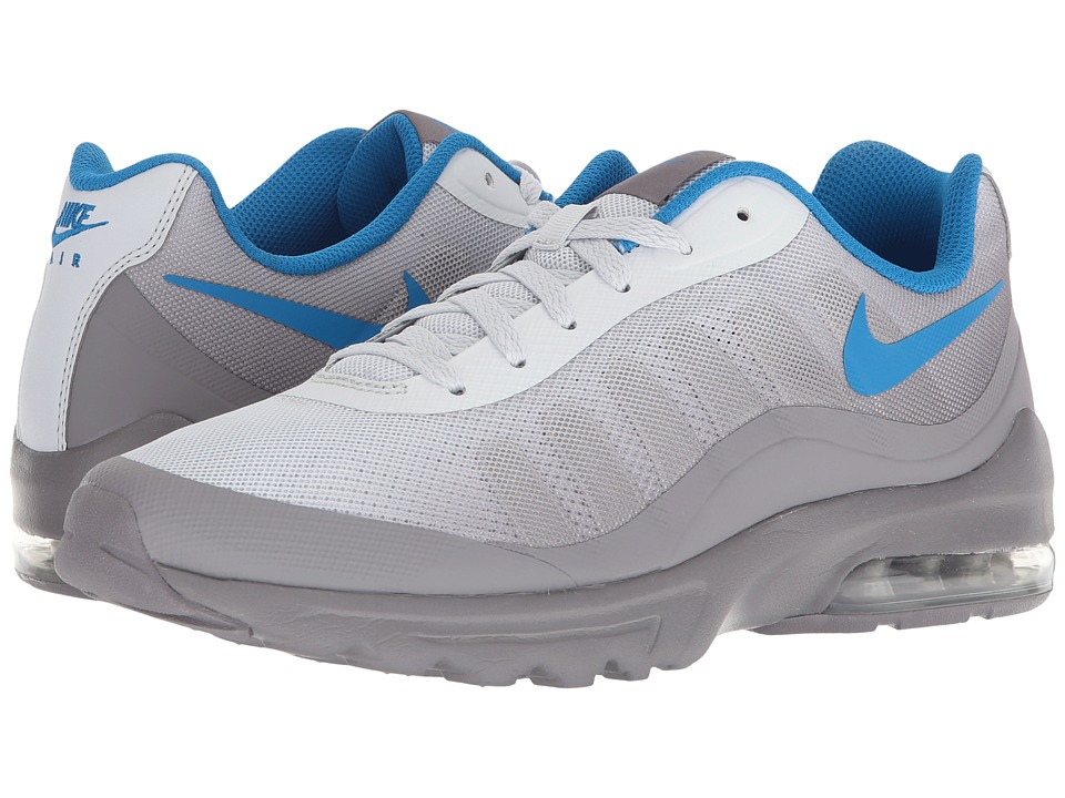 Nike - Air Max Invigor (Pure Platinum/Blue Nebula/Gunsmoke) Mens Cross Training Shoes