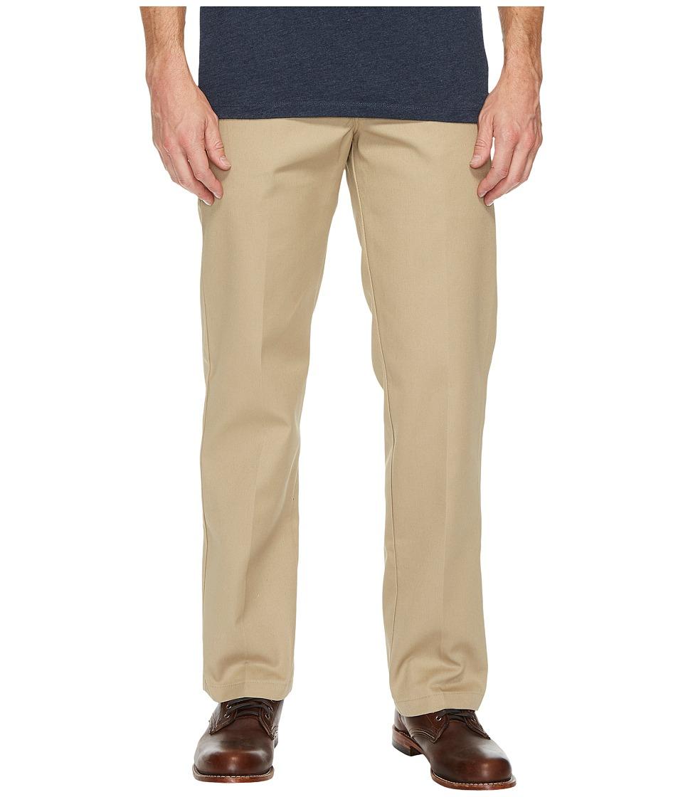 Dickies Slim Straight Work Pants (Khaki) Men's Casual Pants