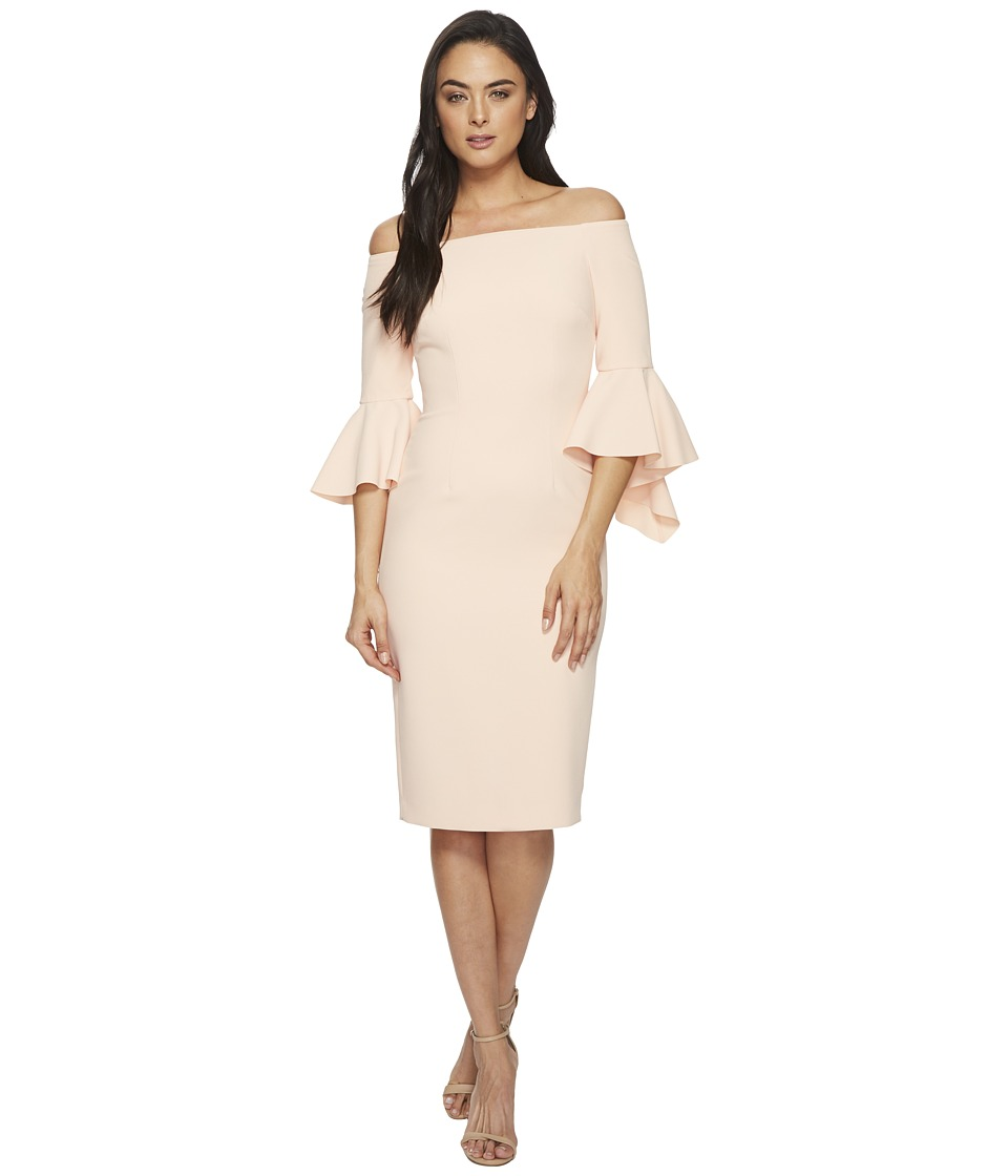 Tahari by ASL - Statement Sleeve Sheath Dress (Blush) Womens Dress