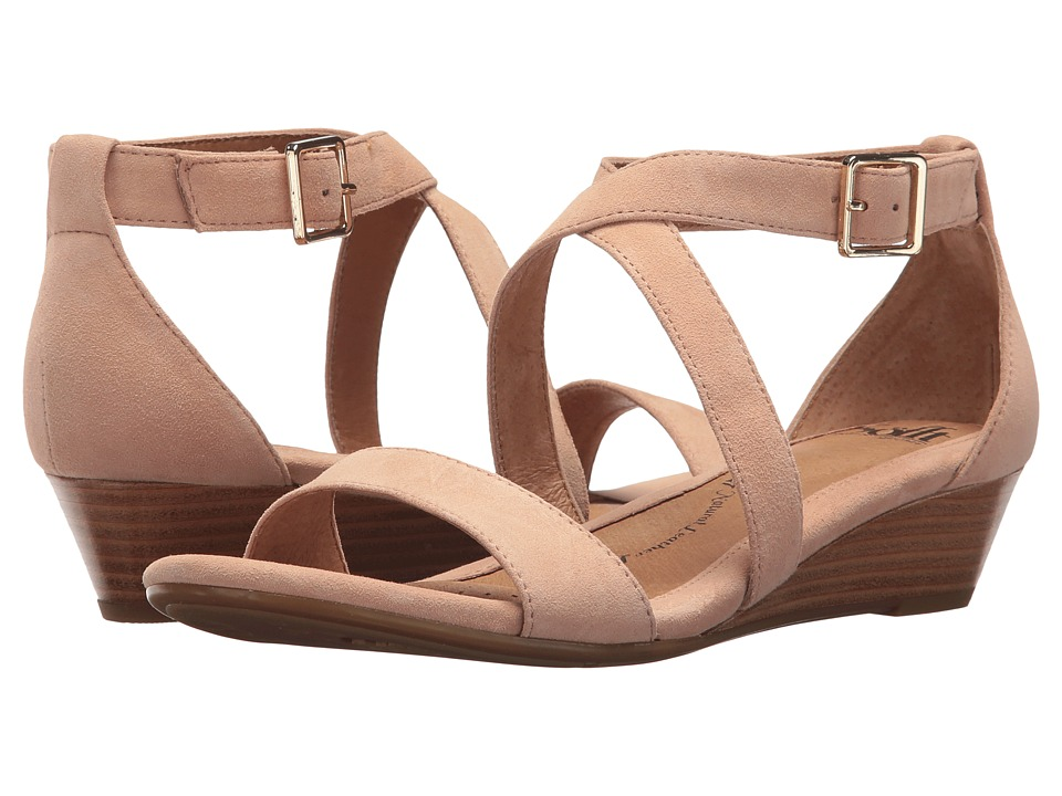 Sofft Innis (Summer Blush King Suede) Wedges