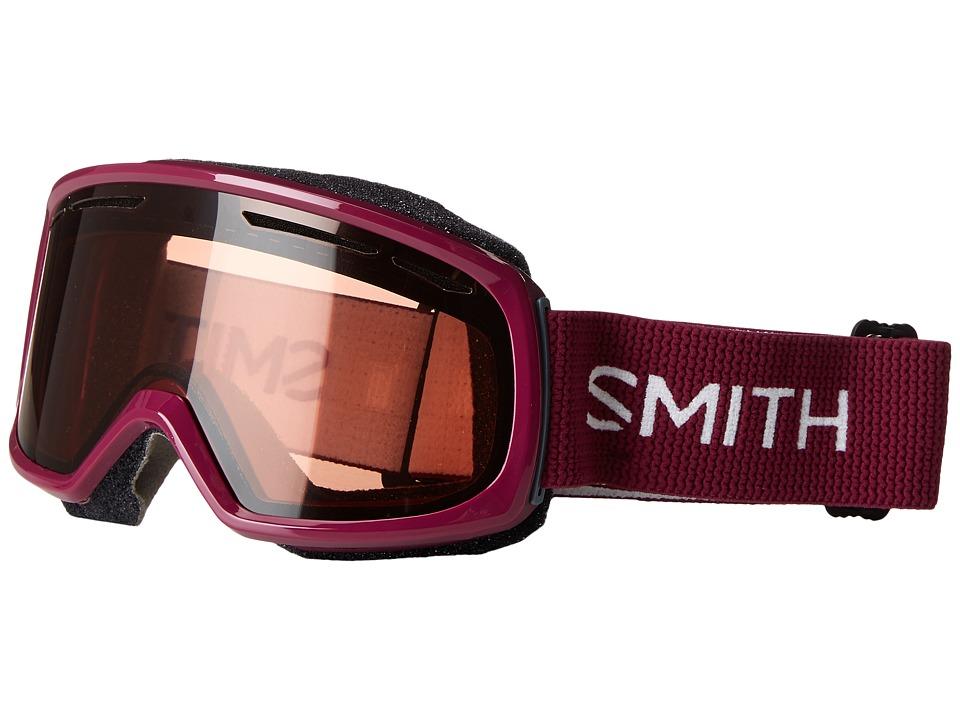 Smith Optics Drift Goggle (Grape Frame/RC36/Extra Lens) Snow Goggles