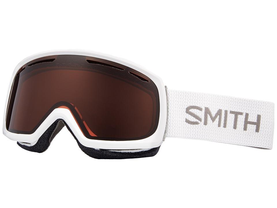 Smith Optics Drift Goggle (White Frame/RC36/Extra Lens) Snow Goggles