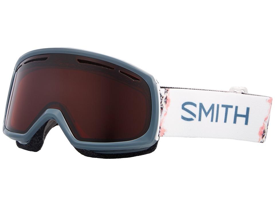 Smith Optics Drift Goggle (Thunder Composite Frame/RC36/Extra Lens) Snow Goggles