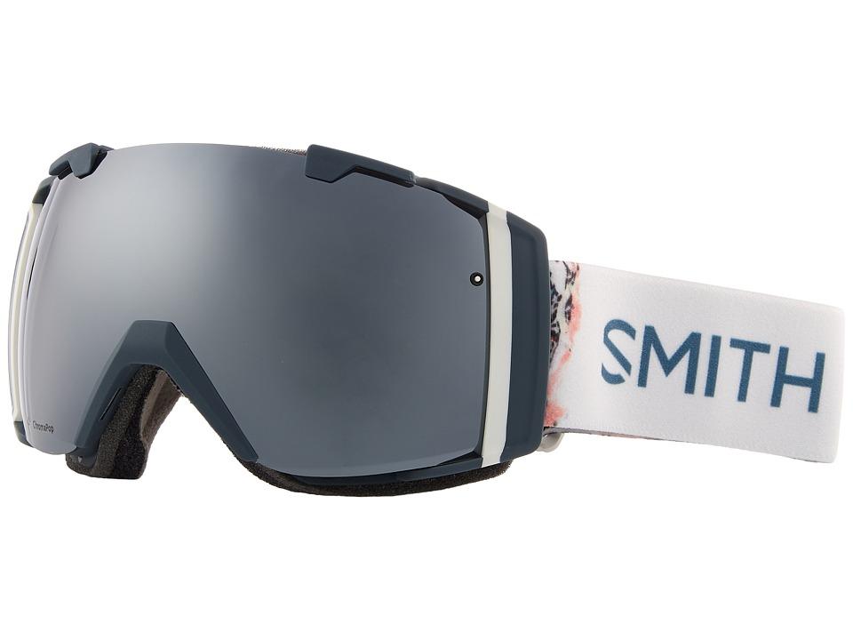Smith Optics I/O Goggle (Thunder Composite Frame/Chromapop Sun Platinum Mirror/Chromapop) Goggles