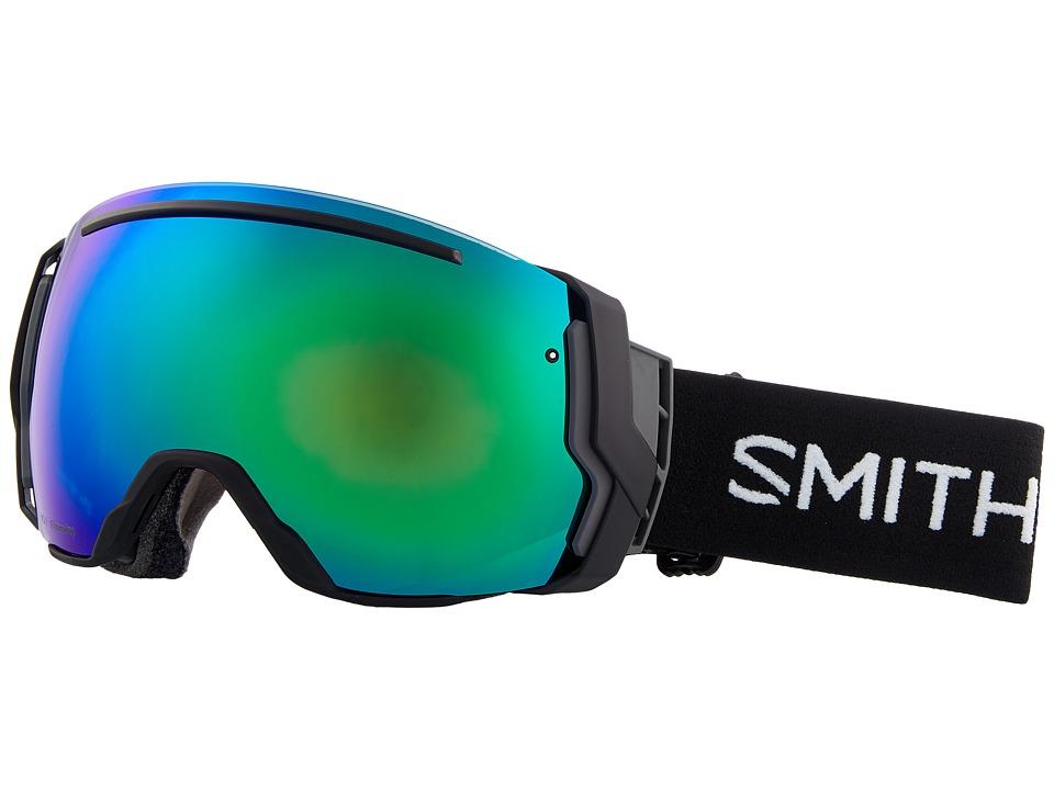 Smith Optics I/O Seven Goggle (Black Frame/Chromapop Sun Green Mirror/Chromapop Storm Rose Flas) Snow Goggles