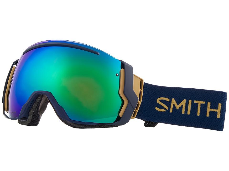 Smith Optics I/O Seven Goggle (Navy Camo Split Frame/Chromapop Sun Green Mirror/Chromapop Storm) Snow Goggles