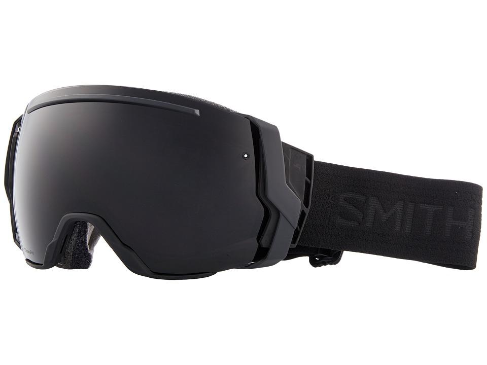 Smith Optics I/O Seven Goggle (Blackout Frame/Chromapop Sun Black/Chromapop Storm Rose Flash) Snow Goggles