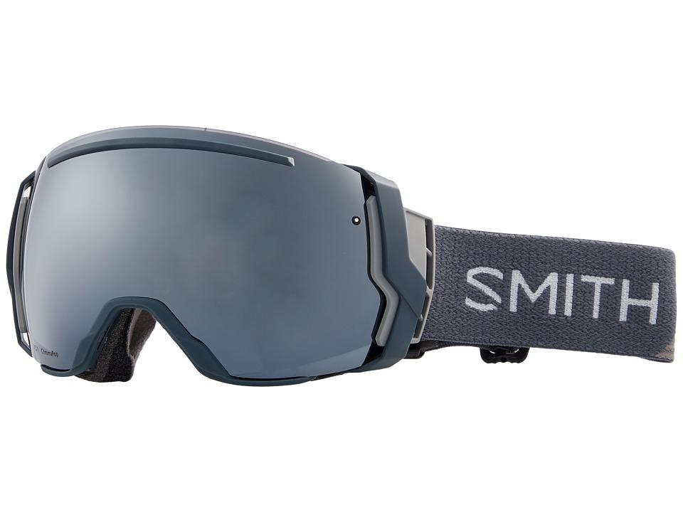 Smith Optics I/O Seven Goggle (Thunder Split Frame/Chromapop Sun Platinum Mirror/Chromapop Stor) Snow Goggles