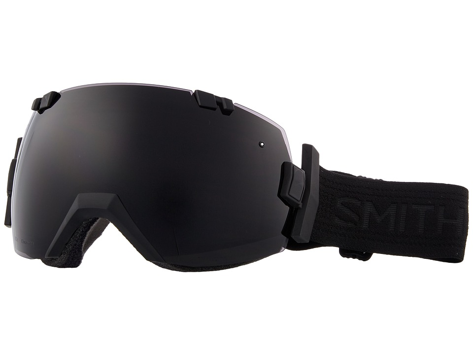 Smith Optics - I/OX (Blackout Frame/Chromapop Sun Black/Chromapop Storm Rose Flash) Snow Goggles