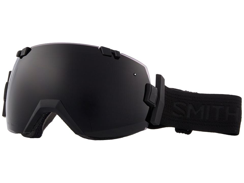 Smith Optics I/OX (Blackout Frame/Chromapop Sun Black/Chromapop Storm Rose Flash) Snow Goggles