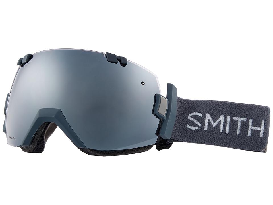 Smith Optics I/OX (Thunder Split Frame/Chromapop Sun Platinum Mirror/Chromapop Stor) Snow Goggles