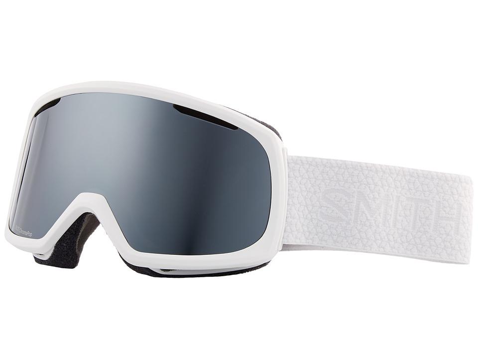 Smith Optics Riot Goggle (White Mosaic Frame/Chromapop Su...
