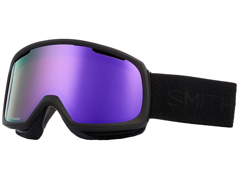 Smith Optics Riot Goggle (Black Mosaic Frame/Chromapop Everyday Violet Mirror/Yellow) Goggles