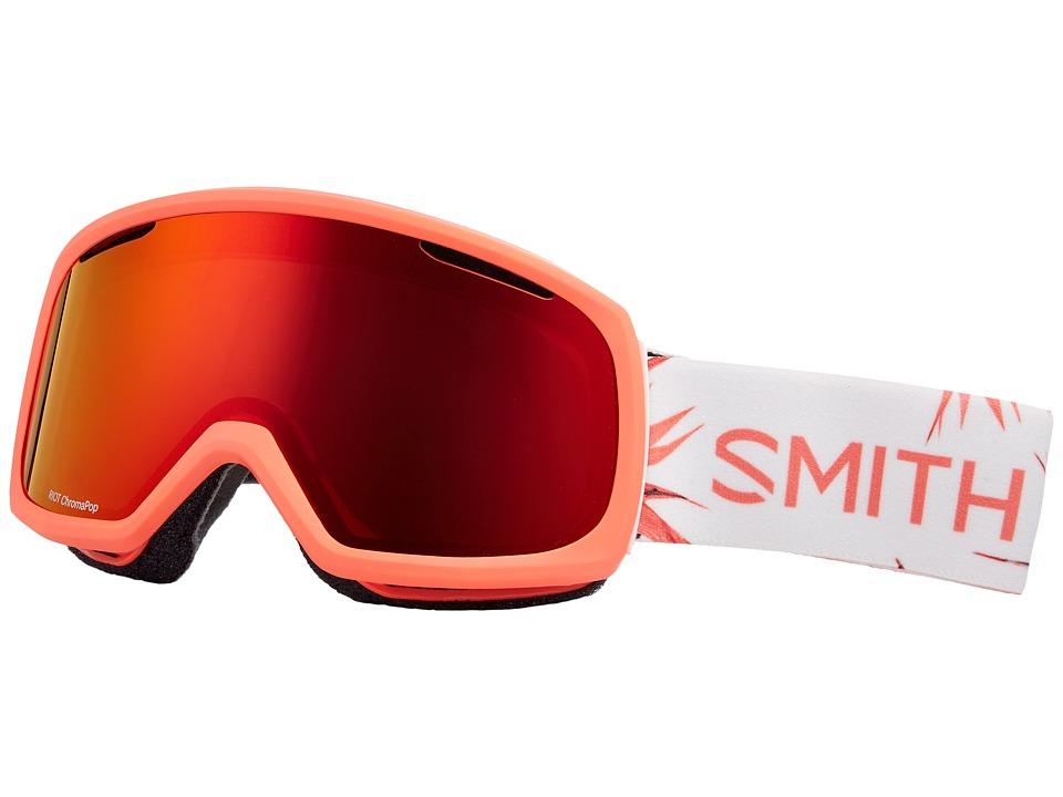 Smith Optics Riot Goggle (Sunburst Zen Frame/Chromapop Everyday Red Mirror/Yellow) Goggles