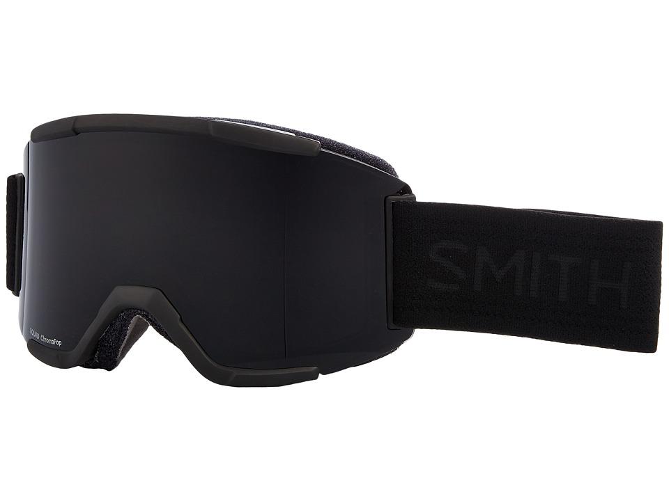 Smith Optics Squad Goggle (Blackout Frame/Chromapop Sun Black/Yellow) Goggles
