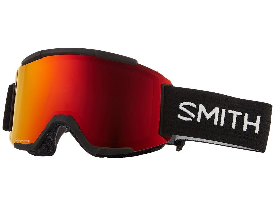 Smith Optics Squad Goggle (Black Frame/Chromapop Everyday Red Mirror/Yellow) Goggles