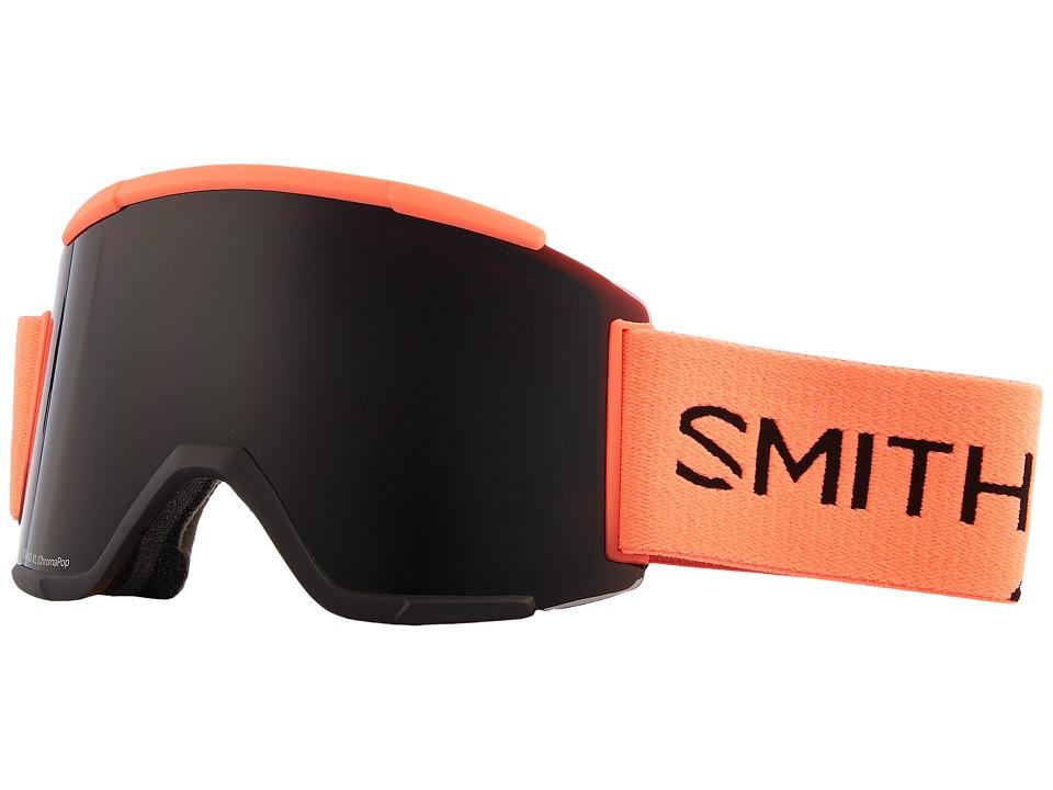 Smith Optics Squad XL Goggle (Sunburst Split Frame/Chromapop Sun Black/Chromapop Storm Rose Fl) Snow Goggles