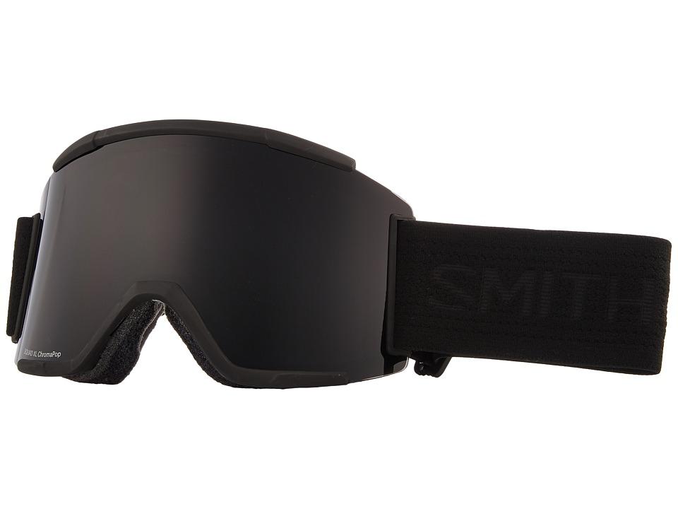 Smith Optics Squad XL Goggle (Blackout Frame/Chromapop Sun Black/Chromapop Storm Rose Flash) Snow Goggles
