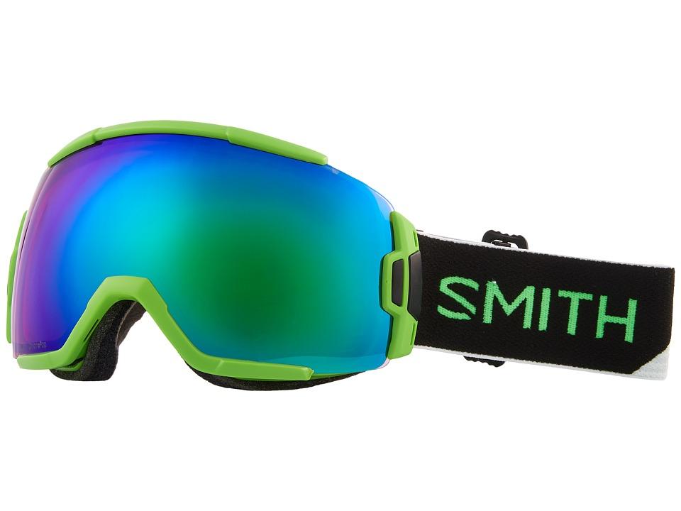 Smith Optics Vice Goggle (Reactor Split Frame/Chromapop Everyday Green Mirror/Extra Lens) Goggles