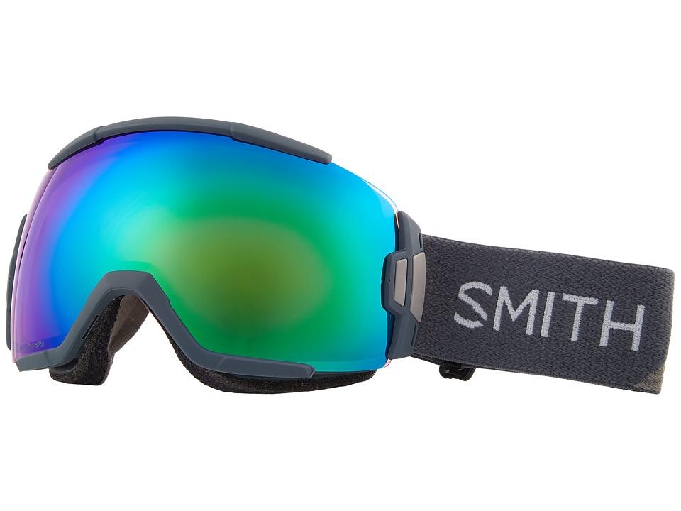 Smith Optics Vice Goggle (Thunder Split Frame/Chromapop Everyday Green Mirror/Extra Lens) Goggles