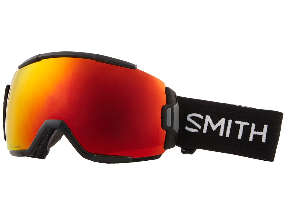 Smith Optics Vice Goggle (Black Frame/Chromapop Everyday Red Mirror/Extra Lens) Goggles