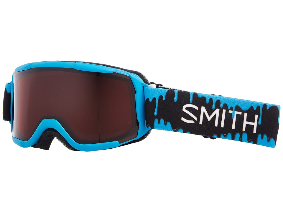 Smith Optics Daredevil Goggle (Youth Fit) (Cyan Slime Frame/RC36/Extra Lens) Goggles