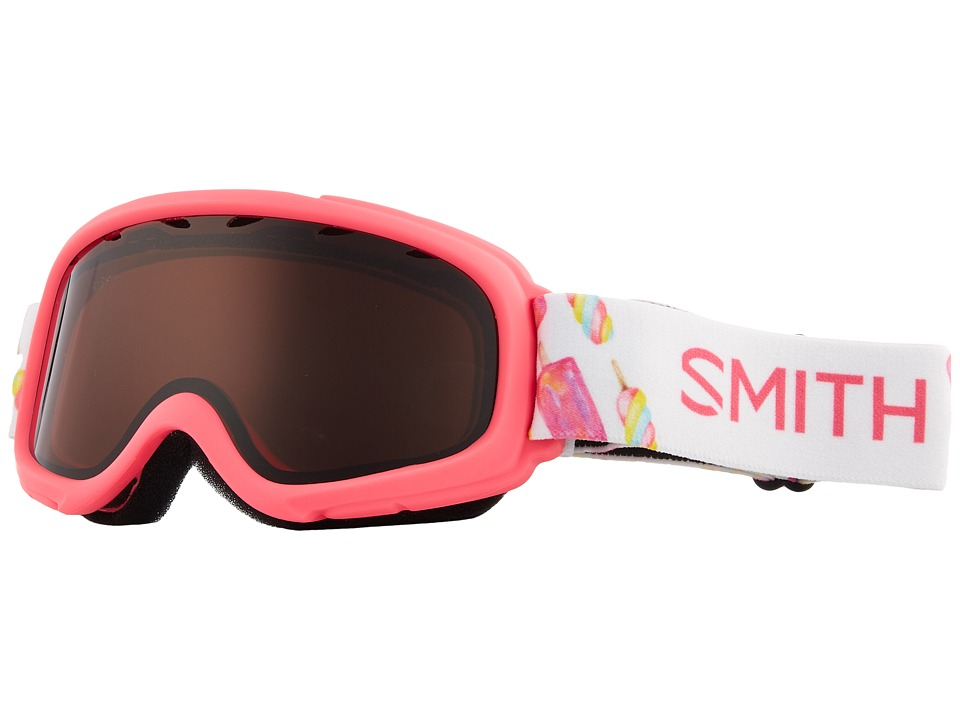 Smith Optics Gambler Goggle (Youth Fit) (Pink Popsicles Frame/RC36/Extra Lens) Goggles
