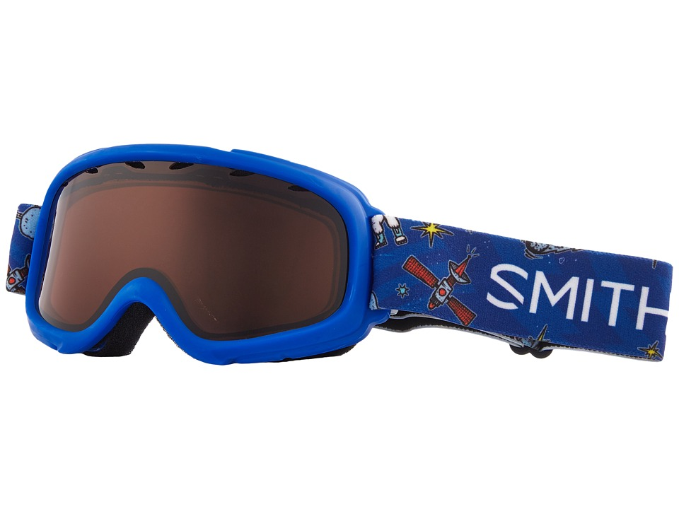 Smith Optics Gambler Goggle (Youth Fit) (Cobalt Shuttles Frame/RC36/Extra Lens) Goggles