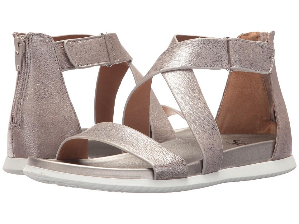 Sofft - Fiora (Anthracite Grid Metallic) Women's Sandals