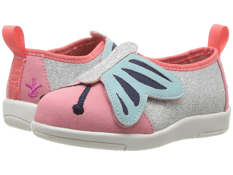EMU Australia Kids Butterfly Sneaker (Toddler/Little Kid/Big Kid) (Pink Watermelon) Girl's Shoes