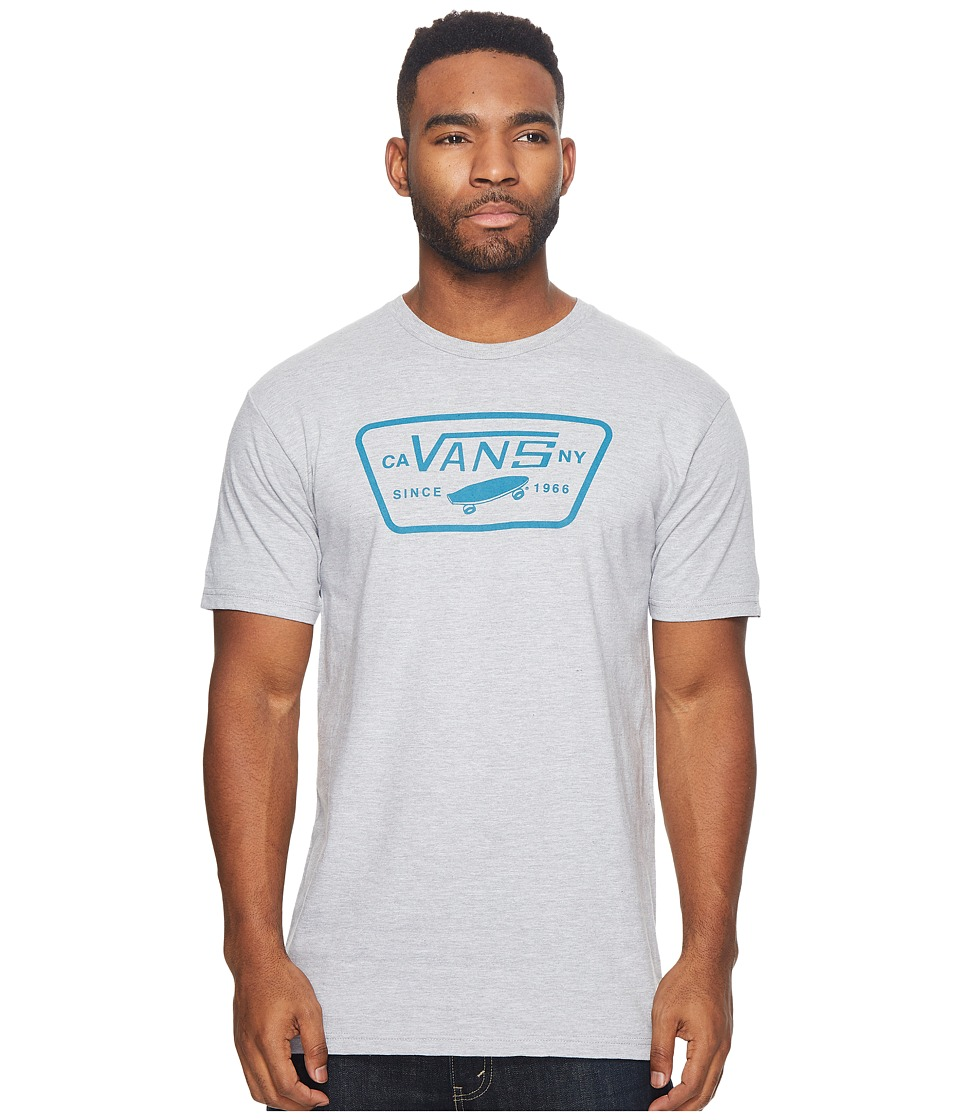 Vans Full Patch Tee (Athletic Heather/Lyons Blue) Men