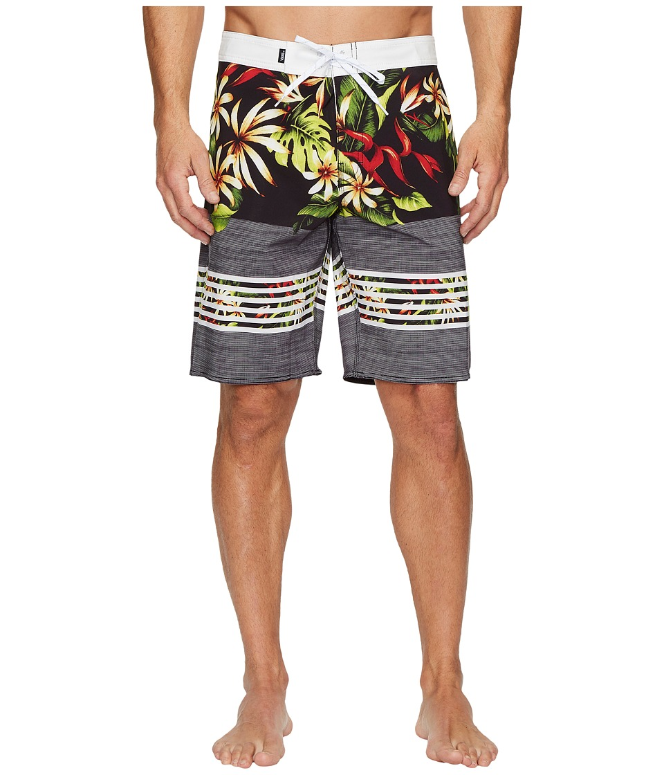 Vans Era Stretch Boardshorts 20 (Black Lo/Fi Floral) Men