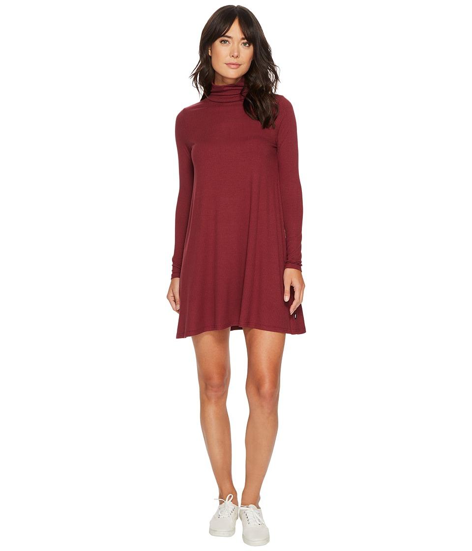 Vans Whistler Dress (Burgundy) Women
