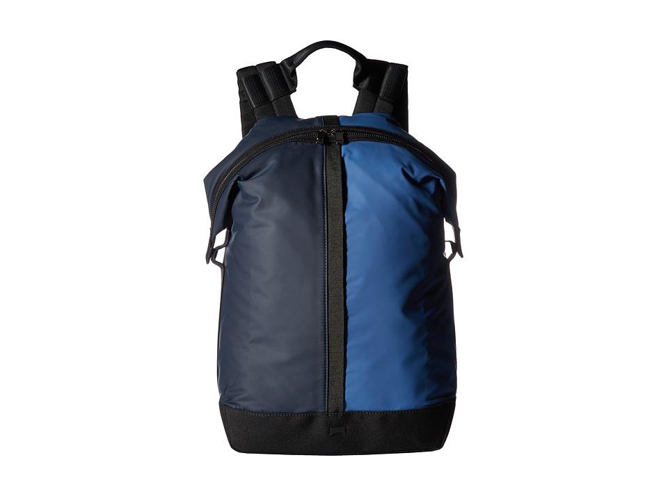 Camper - Moon Backpack (Blue Multi) Backpack Bags