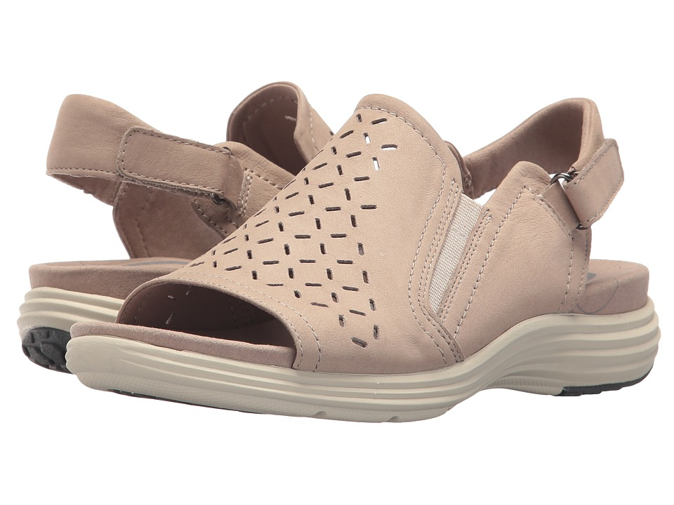 Aravon Beaumont Peep Sling (Dove) Women's Shoes