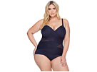 Miraclesuit Plus Size Solids Madero One-Piece