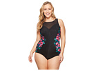 Miraclesuit Plus Size Tahitian Temptress Fascination One-Piece