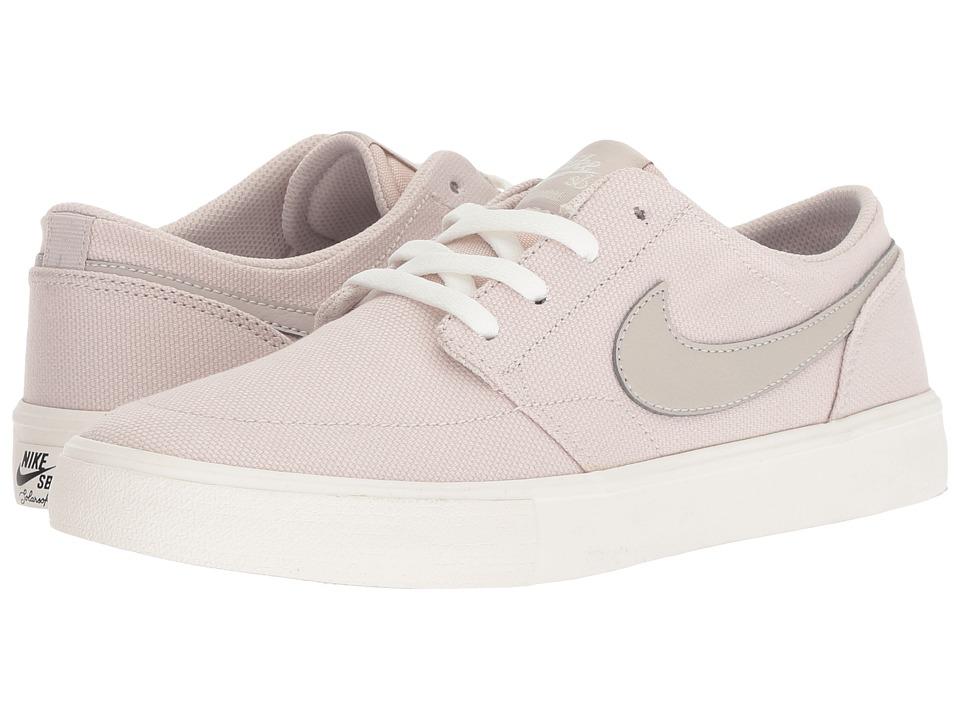 Nike SB Solarsoft Portmore II (Desert Sand/Desert Sand/Ivory/White) Women's Skate Shoes